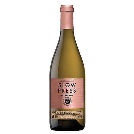 Slow Press Chardonnay Monterey County (750 ml)