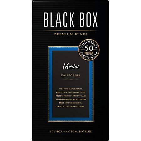 Black Box Wines Merlot (3L box)
