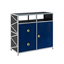 Dune Buggy Storage Cabinet - Blue
