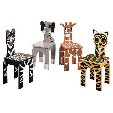 animal chairs 4 pk sam s club