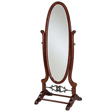 Heirloom Cherry Cheval Mirror