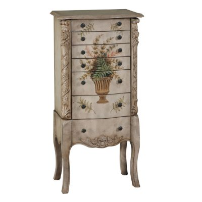 Masterpiece Aged Hand Painted Jewelry Armoire Sams Club