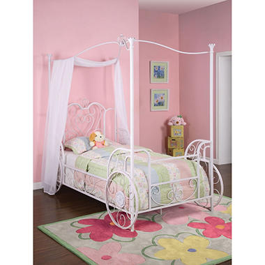 Princess Emily Carriage Twin Bed