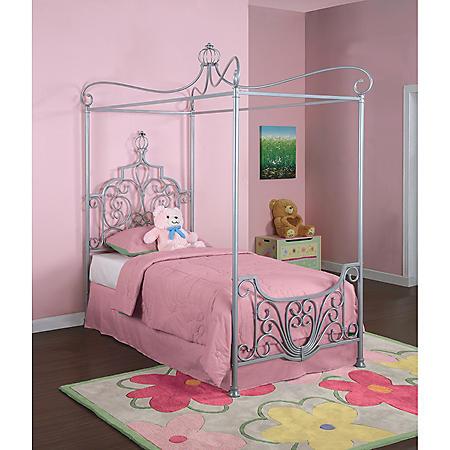 Princess Rebecca Canopy Twin Bed