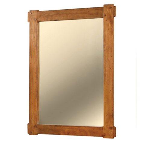 Dakota Dark Rustic Pine Mirror