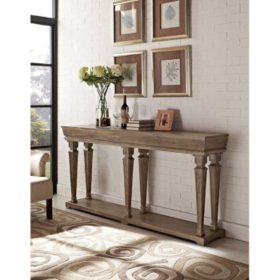 Benjamin Console Table, Taupe