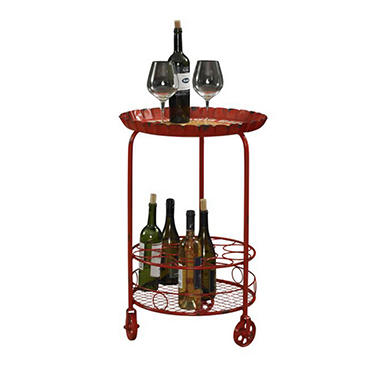 Vintage Bottle-Cap Wine Rack