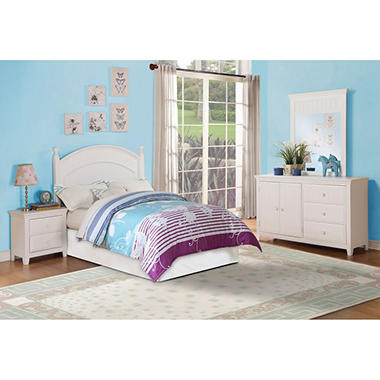 Wendy Full Bedroom Set, White