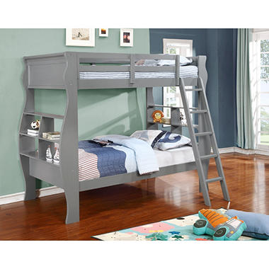 Casey Twin Bunk Bed (Assorted Colors)