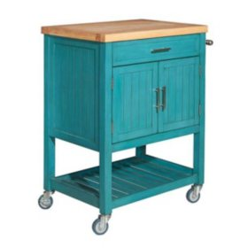 Conrad Kitchen Cart (Assorted Colors)