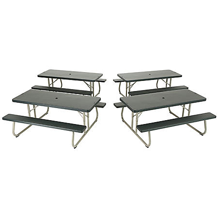 Lifetime 6 Folding Picnic Table 4 Pack Sam S Club