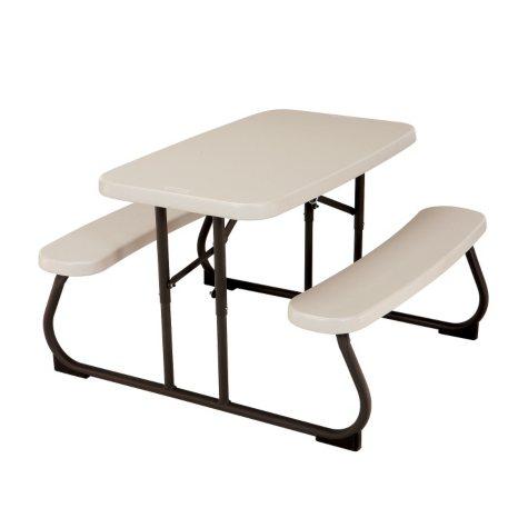 "Lifetime 32.5"" Kids Folding Picnic Table - Almond"