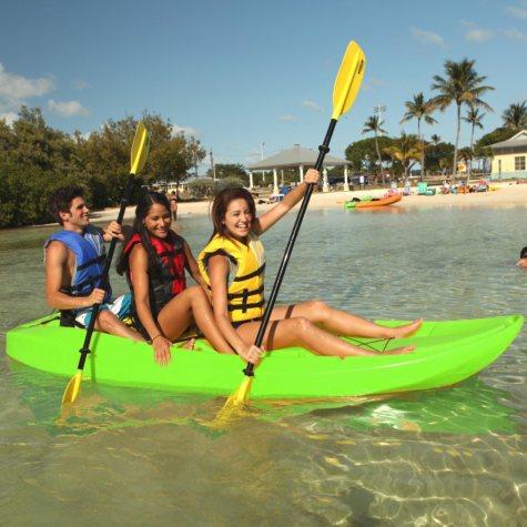 Lifetime 10' Adult Tandem Kayak w/ Backrests, Lime Green