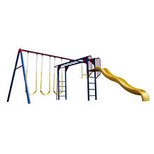Lifetime Monkey Bar Adventure Swing Set - Primary Colors