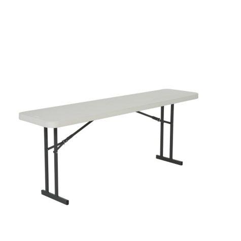 Lifetime 6' Folding Seminar Table, 5 Pack, White Granite