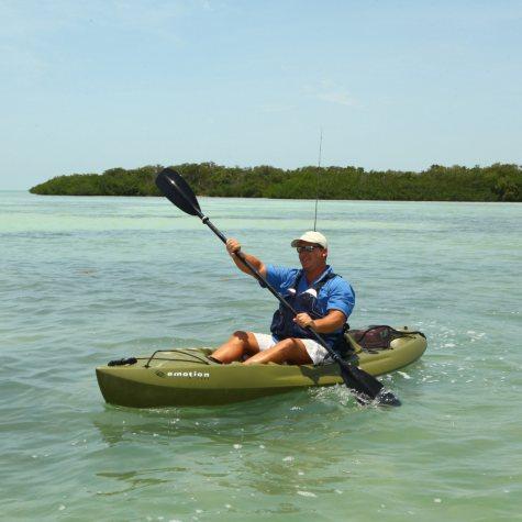 Emotion Renegade™ XT Kayak, Olive Green