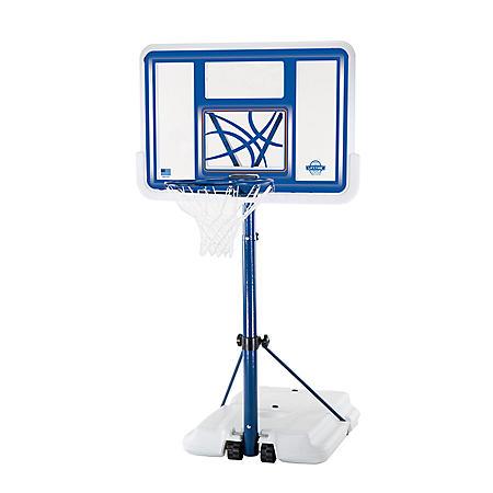"Lifetime 44"" Acrylic Poolside Basketball System"