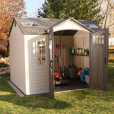 Garden Sheds 10 X 8 lifetime 10' x 8' garden shed - sam's club