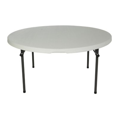 Lifetime 60 Round Commercial Grade Nesting Folding Table Select