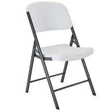 Lifetime Commercial Grade Contoured Folding Chair, Select Colors