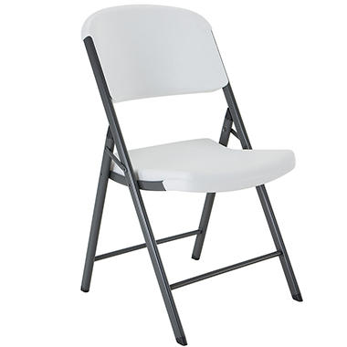 Lifetime Commercial Grade Contoured Folding Chair Select Colors  sc 1 st  Samu0027s Club : foling chairs - Cheerinfomania.Com