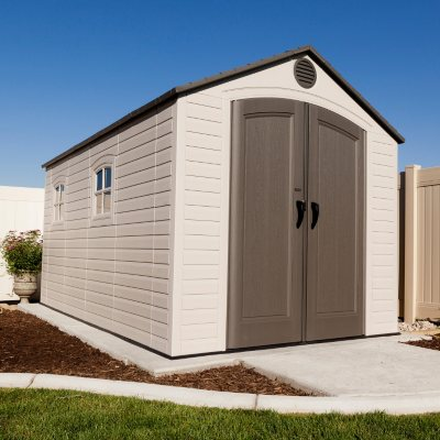 Lifetime 8u0027 x 12.5u0027 Outdoor Storage Shed & Plastic Storage Sheds u0026 Resin Storage Sheds - Samu0027s Club