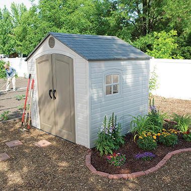 Lifetime Resin Storage Building - 8' x 7.5'