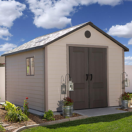 Lifetime 11' x 13.5' Storage Shed Building