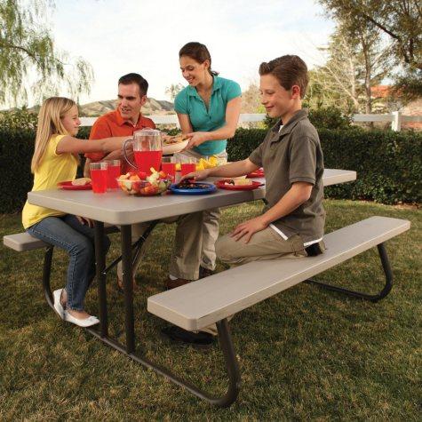 Lifetime 6' Single Folding Picnic Table