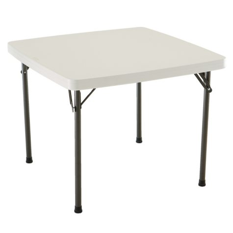 "Lifetime 37"" Commercial Grade Card Table, Choose a Color"