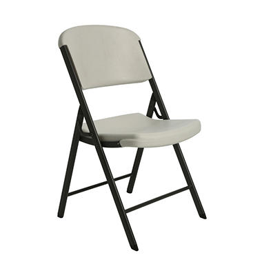 f52522f5f3565 Lifetime Commercial Contoured Folding Chair