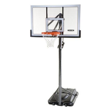 "Lifetime XL Base 54"" Portable Basketball System"