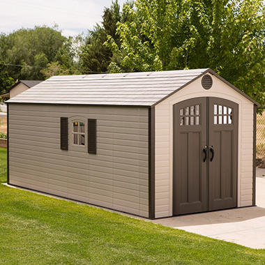 Ordinaire Lifetime 8u0027 X 17.5u0027 Storage Shed