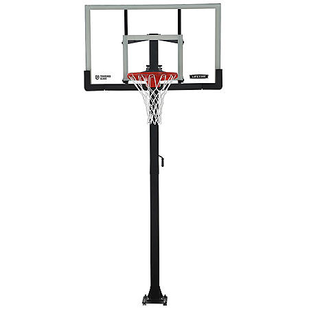 "Lifetime Bolt-Down 60"" Basketball System"