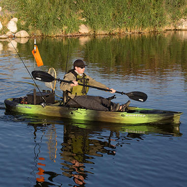 Lifetime 8 feet adult kayak boat with paddle and for Sa fishing promo code free shipping