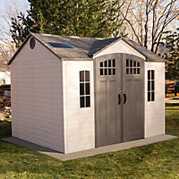 Garden Sheds 8x10 lifetime 8' x 10' outdoor storage shed - sam's club