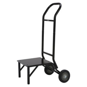 Lifetime Stackable Chair Cart, Black