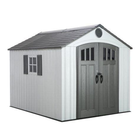 Lifetime Gray Shed with End Entry 8' x10'