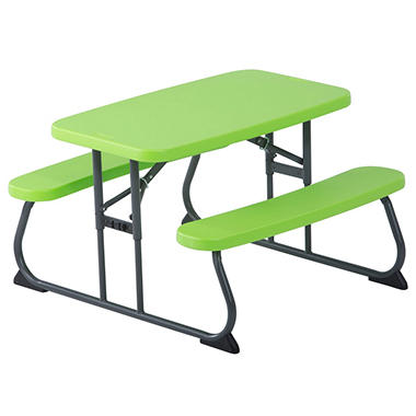 Amazing Lifetime Childrenu0027s Picnic Table (Assorted Colors)