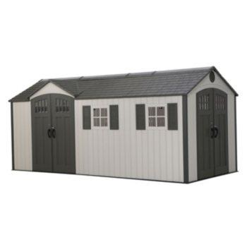 Lifetime 8' x 17.5' Storage Shed (Dual Entry)