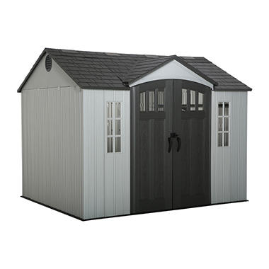 best seller lifetime shed with side entry 10