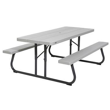 Lifetime 6 Picnic Table Gray Matters Sam S Club