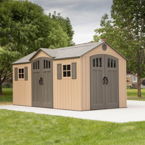 Lifetime 15' x 8' Outdoor Storage Shed