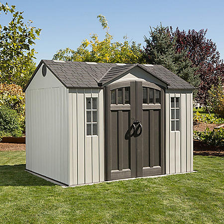 Lifetime 10' x 8' Shed, Gray