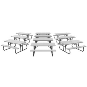Lifetime 6' Picnic Table (10-pack)