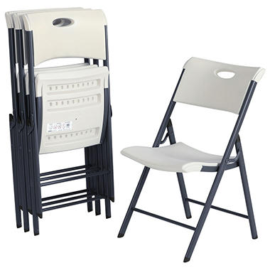 lifetime contemporary commercial folding chair 4 pack choose a