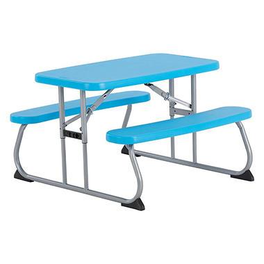 Lifetime Childrens Picnic Table Sams Club - Teal picnic table