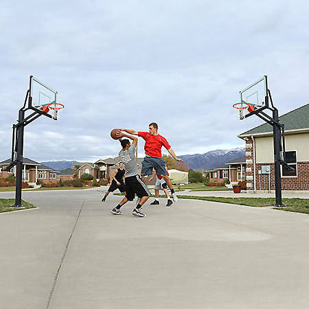 Lifetime Mammoth In-Ground Basketball Hoop, Two Pack