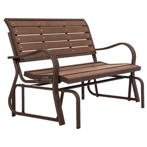 Lifetime Glider Bench