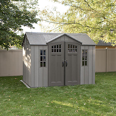 Lifetime 10 X 8 Rough Cut Outdoor Storage Shed Sam S Club